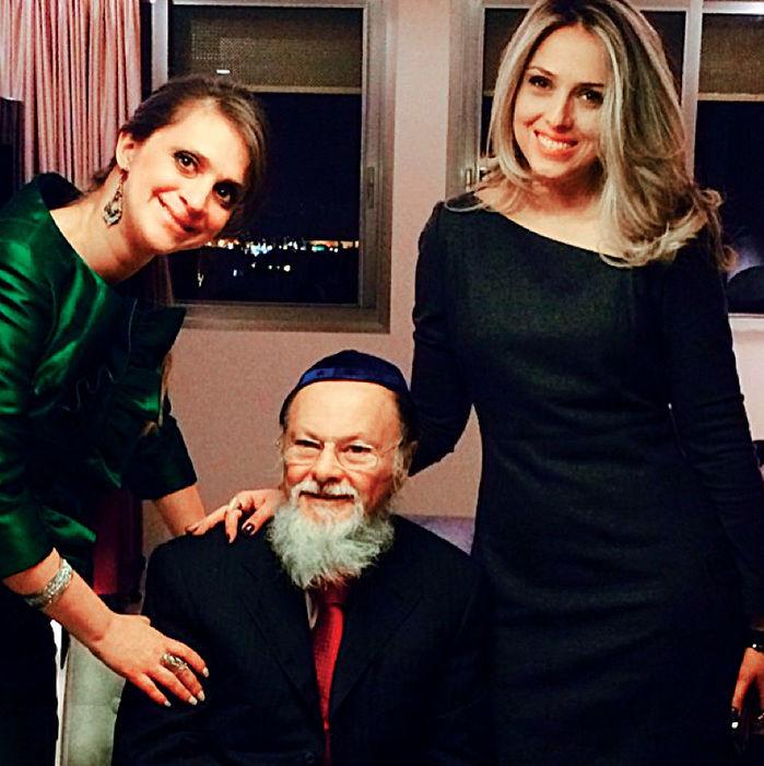 Ester, Edir e a filha Cristiane: cenas de família (foto: Reprodução)