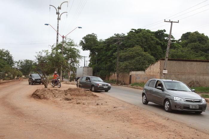 Obras de prolongamento da avenida Henry Wall de Carvalho já duram um ano e não são concluídas  - Imagem 2