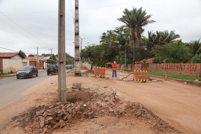Obras de prolongamento da avenida Henry Wall de Carvalho já duram um ano e não são concluídas  - Imagem 3