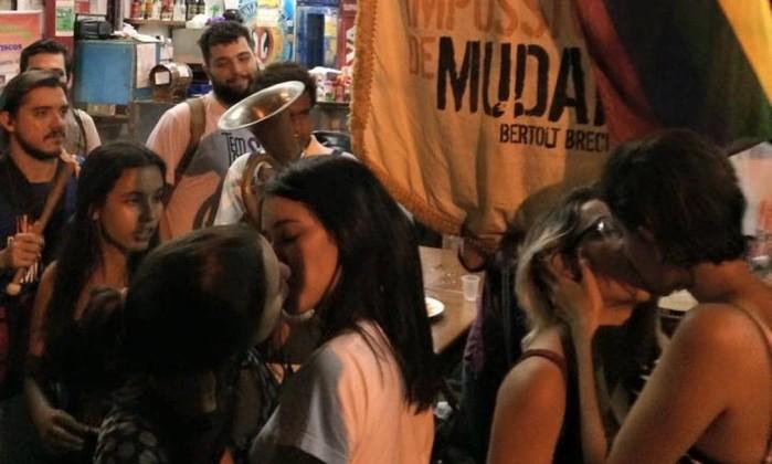 Ativistas LGBT denunciam agressão após protesto contra homofobia em Botafogo  - Imagem 2