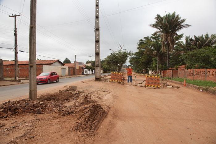 Obras de prolongamento da avenida Henry Wall de Carvalho já duram um ano e não são concluídas  - Imagem 1