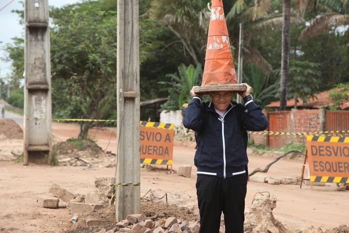 Obras de prolongamento da avenida Henry Wall de Carvalho já duram um ano e não são concluídas  - Imagem 6