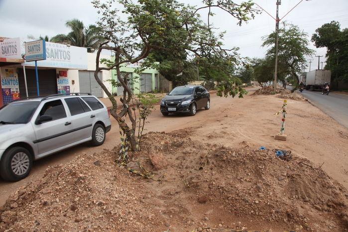 Obras de prolongamento da avenida Henry Wall de Carvalho já duram um ano e não são concluídas  - Imagem 4