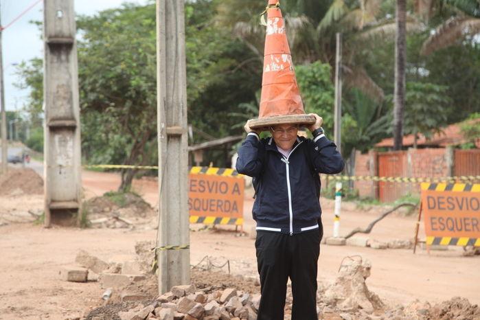 Obras de prolongamento da avenida Henry Wall de Carvalho já duram um ano e não são concluídas  - Imagem 7