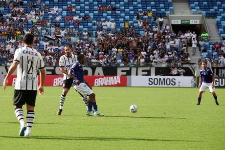 Jogo foi realizado na Arena Pantanal
