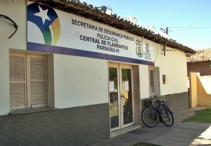 Resultado de imagem para FOTOS DA CENTRAL DE FLAGRANTE PARNAIBA