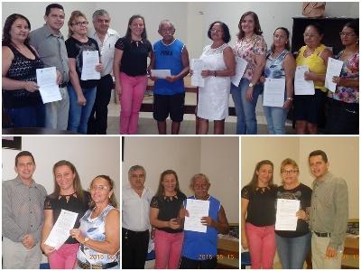 Prefeita Vilma Amorim Entrega Concessão de Aposentadoria para Servidores de Esperantina