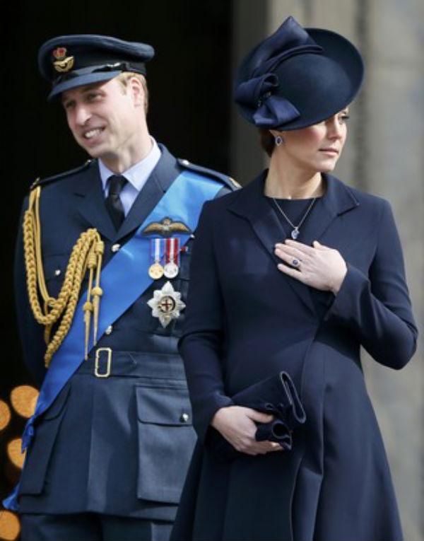 Nasce segundo filho de Kate Middleton e príncipe William
