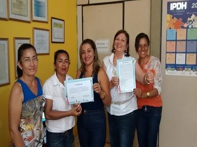"""Prefeito e Secretária de Educação de São Pedro do Piauí são premiados com avaliação do """"Palavra de Crianças """""""