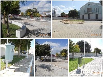 Prefeitura de Esperantina prioriza a construção de novas praças na cidade