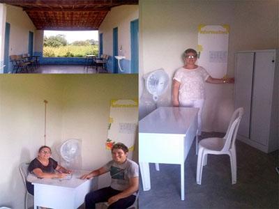 SECRETARIA DE SAÚDE  amplia posto de atendimento na zona rural