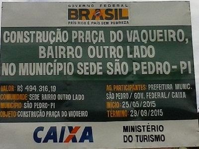 Em Breve : A Praça do Vaqueiro é um compromisso do prefeito Raimundo Ferreira.