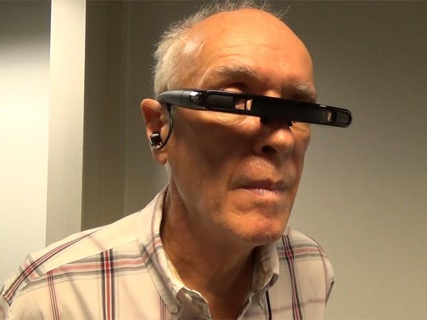 Óculos inovador