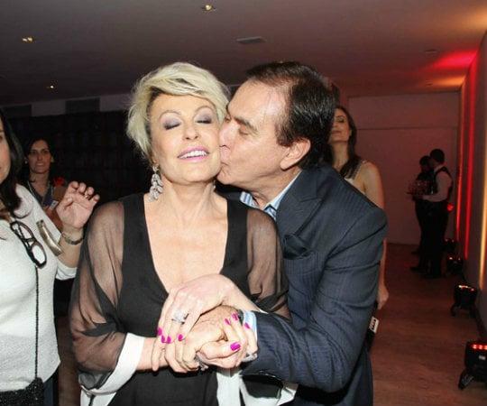 Amaury Junior e Ana Maria Braga