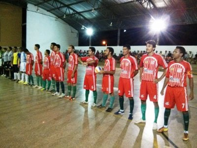 Redenção do Gurguéia perde de virada na abertura do Torneio Intermunicipal de Futsal