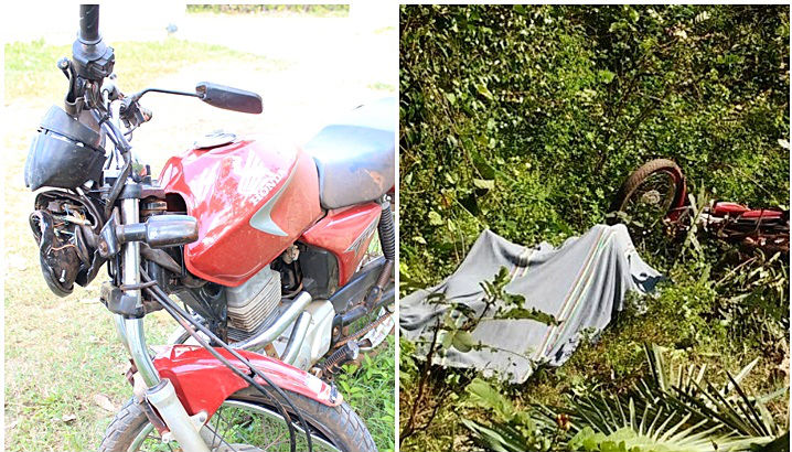 PI: Homem morre após perder o controle de moto e cair de ponte