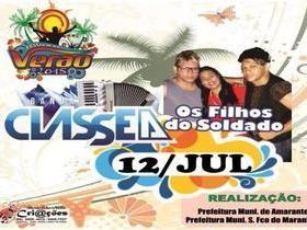 Confira ás atrações do Festival de Verão Para esse domingo ( 12/07 )