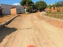 Prefeitura inicia calçamento do bairro Barragem