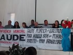 7ª Conferência Municipal de Saúde em Regeneração-PI