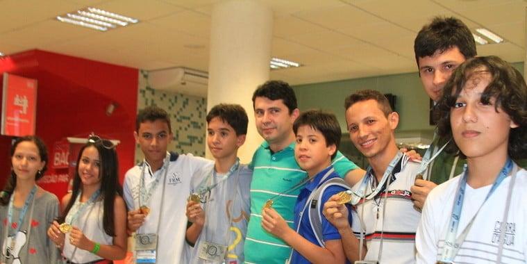 Piauí é recorde de medalhas na Olimpíada de Matemática