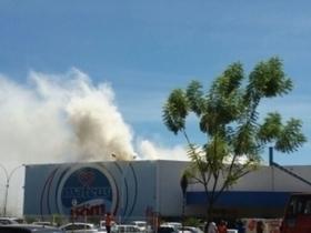 Incêndio interdita maior supermercado de Balsas