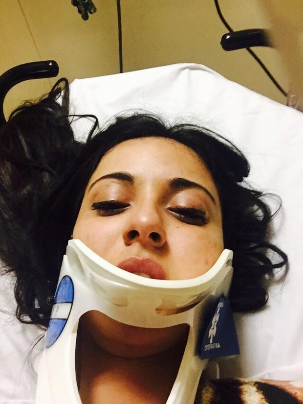 """""""Quase morri"""", diz ex-namorada de Ken humano após sofrer acidente"""