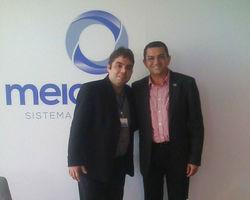 Prefeito de Picos visita o Sistema Meio Norte de Comunicacao