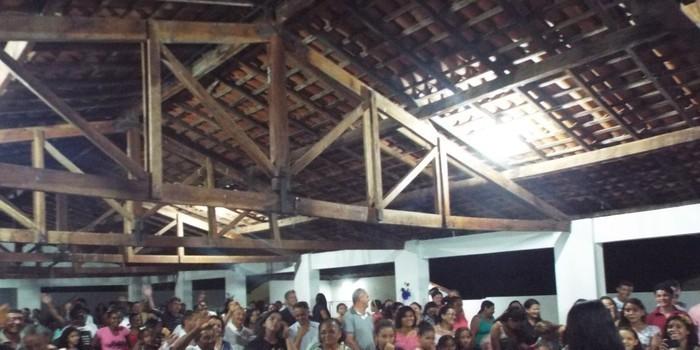 Fotos Show Gospel Cantora Stefhany  em Cajazeiras-PI