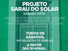 Sarau do Solar e Sábado Arte homenageiam artistas oeirenses