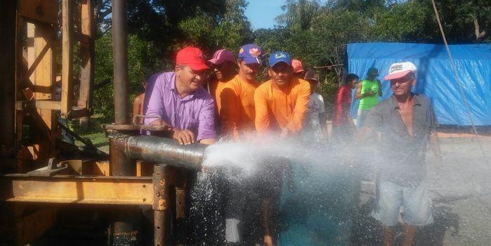 """Prefeitura de Boa Hora realiza licitação de mais de dois milhões de reais para a construção de 8 sistemas de  abastecimento d""""água."""