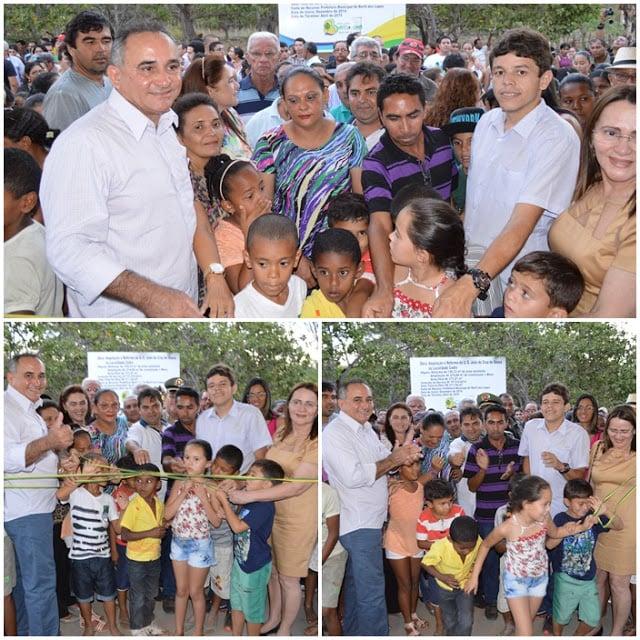 Bernildo Val, o 'prefeito das obras' entrega mais uma escola em Buriti dos Lopes