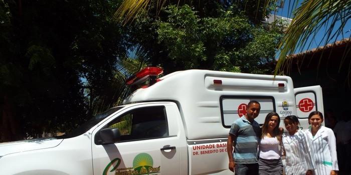 Cajazeiras do Piauí Recebe Nova Ambulância
