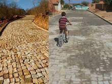 Obras de pavimentação chegam à cidade e interior de Pimenteiras