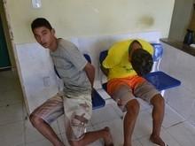 Dupla é presa em Parnaíba com arma de fogo artesanal