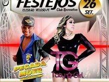 Confira as atrações dos Festejos de Elesbão Veloso no CRE e no Cabana Clube