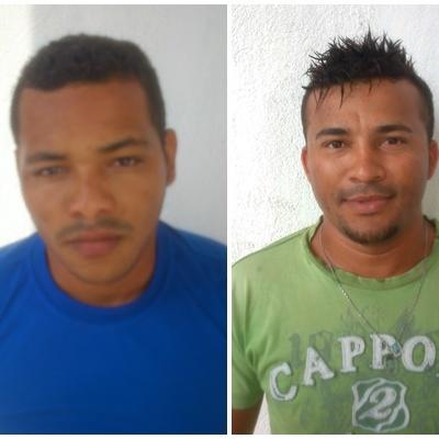 Três jovens são presos furtando peças de carro capotado na BR 407