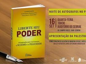 Lançamento do Livro Liberte Seu Poder no Piauí