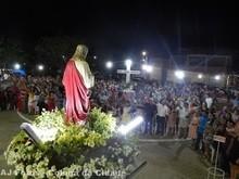 Confira registros AJ Fotos celebração da 1ª noite dos Festejo do Sagrado Coração de Jesus