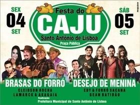 Santo Antônio de Lisboa realizará 12ª festa do caju, confira programação