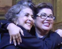 Após declaração polêmica Betty Faria contracena com Fabiana Carla