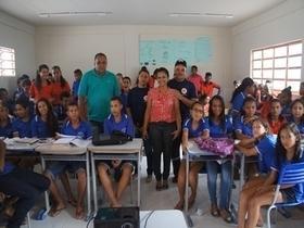 Secretaria municipal de saúde promove campanha do SAMUTRAN em Monte Alegre do Piauí