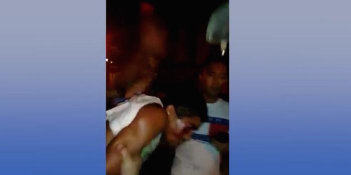 Assaltante sofre tentativa de linchamento após roubo: