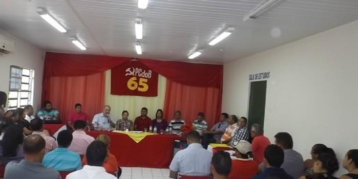 PCdoB de Nossa Senhora de Nazaré, realiza importantes filiações visando organização Partidária para 2016.