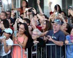 Imagem captura diferença entre gerações durante show de Johnny Depp