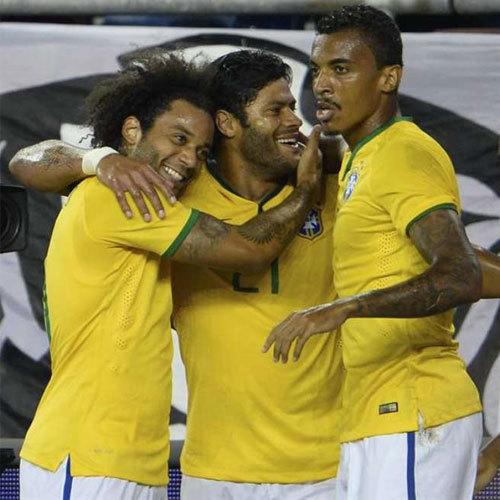 Brasil faz bonito e vence Estados Unidos por 4 a 1 em Foxborough