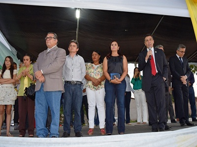 Recorde de público na Avenida Frei Antônio Curcio para prestigiar o Desfile de 7 de Setembro