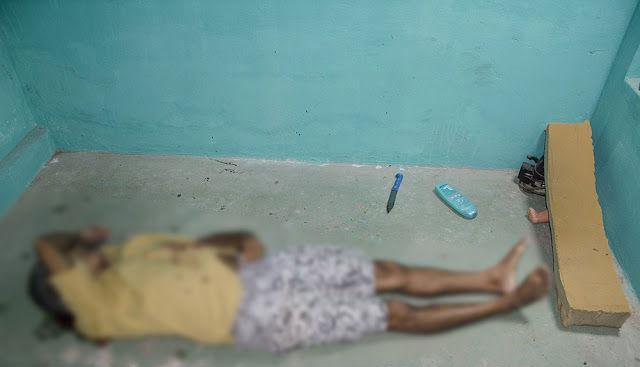 O corpo de Francisco das Chagas do Nascimento foi encontrado em um dos quartos