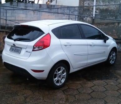 Veículo usado por Marcelo de Oliveira Leite