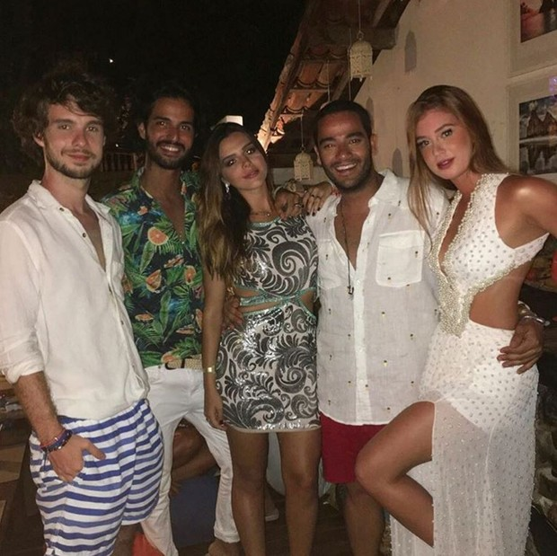 Giovanna Lancellotti, Marina Ruy Barbosa e demais famosos