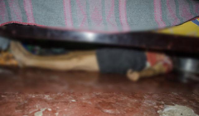 O corpo de Francisca Maria do Nascimento foi encontrado embaixo de uma cama